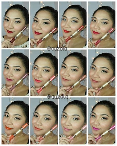 Harga Sariayu Duo Lip Color K Dlc 07 rainbowdorable by auzola