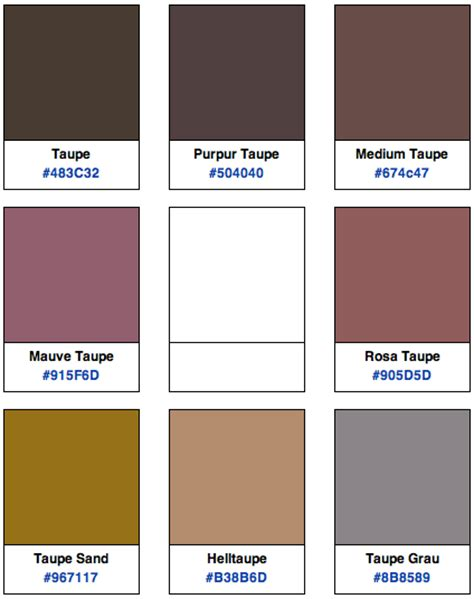 Die Farbe Taupe by Taupe Modepilot