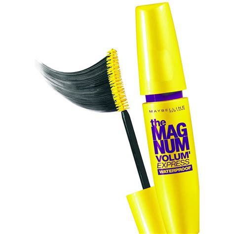 Maybelline The Magnum Mascara maybelline volum express the magnum mascara black