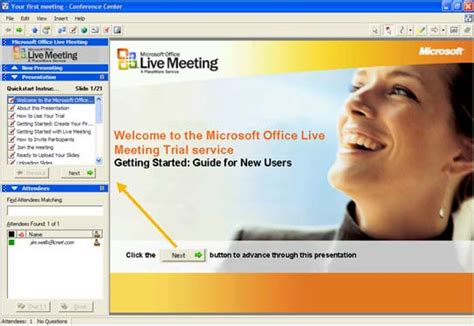 Office Live Meeting by Get It Done Microsoft Office Live Meeting Provides Easy