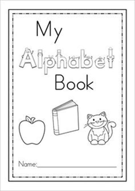 printable alphabet book template 28 images of abc book cover template infovia net