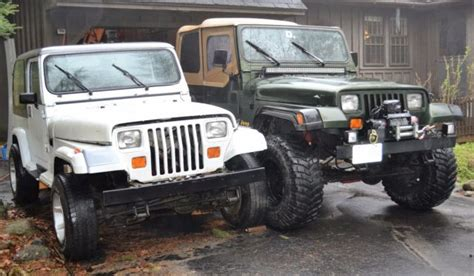 90s Jeep Wrangler Pair Of Jeep Wranglers 90 95 Great Project Classic