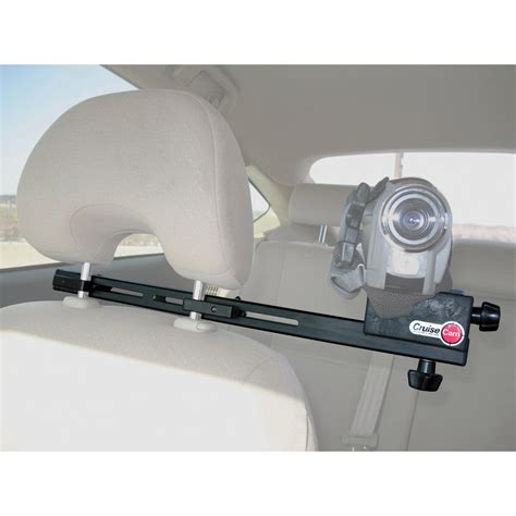 car seat mount cruisecam in car single seat headrest mount