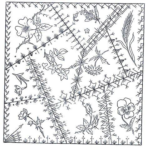 quilt pattern drawing betty pillsbury green spiral herbs quilt barn trail