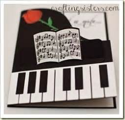 piano greeting card templates 17 best images about piano cards on memory box