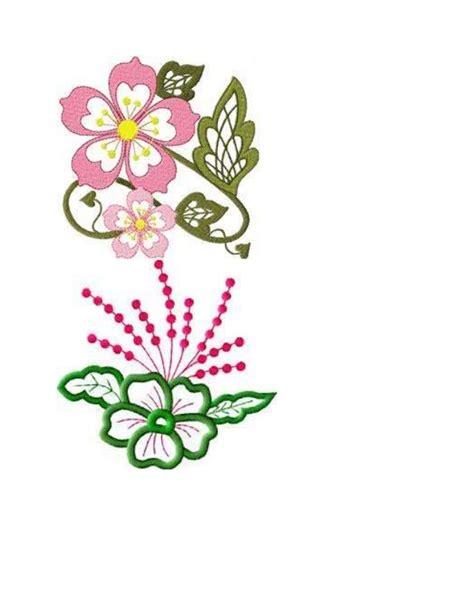 design powerpoint bunga bunga sulaman