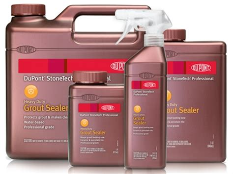 heavy duty grout sealer dupont stonetech professional