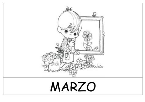 imagenes escolares blanco y negro dibujos meses del a 241 o blanco y negro pfd