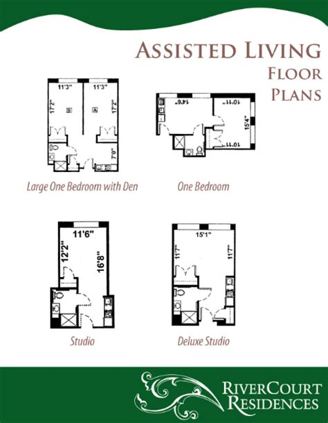 Assisted Living Facility Floor Plans by Senior Assisted Living Facility In Groton Ma