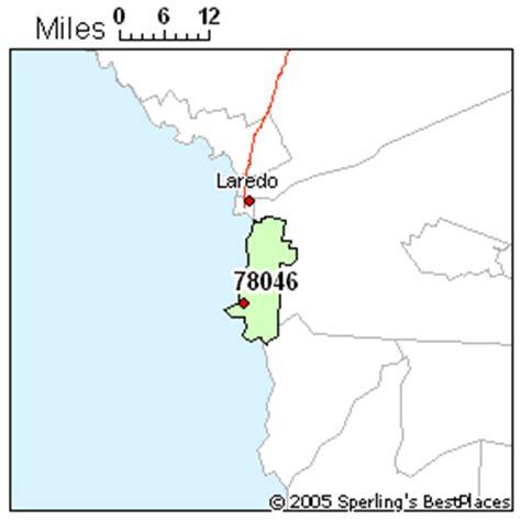 laredo texas zip code map best place to live in laredo zip 78046 texas