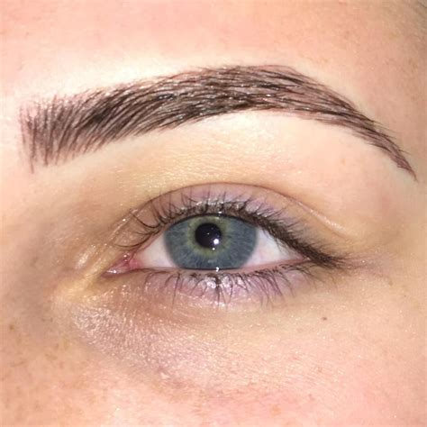 tattoo eyebrows shapes such a gorgeous microbladed brow done by maddison sumsion