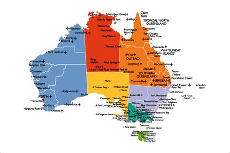 map australian states australia maps map of australia political railway