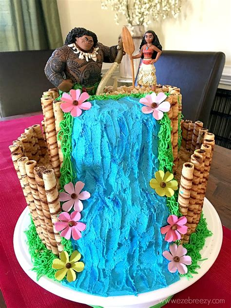 how to make a birthday cake how to make a moana cake