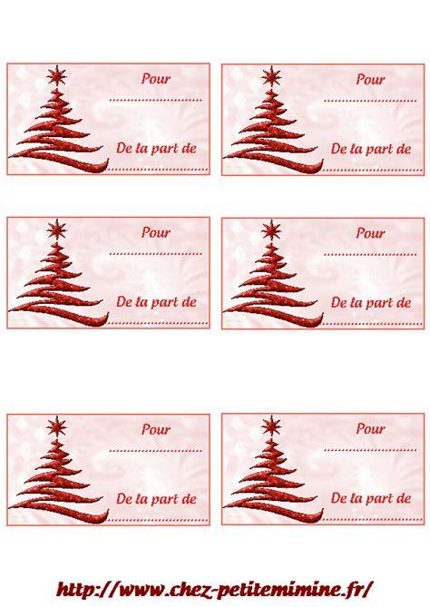 Etiquettes Cadeau Noel by Etiquette Cadeau A Imprimer Noel