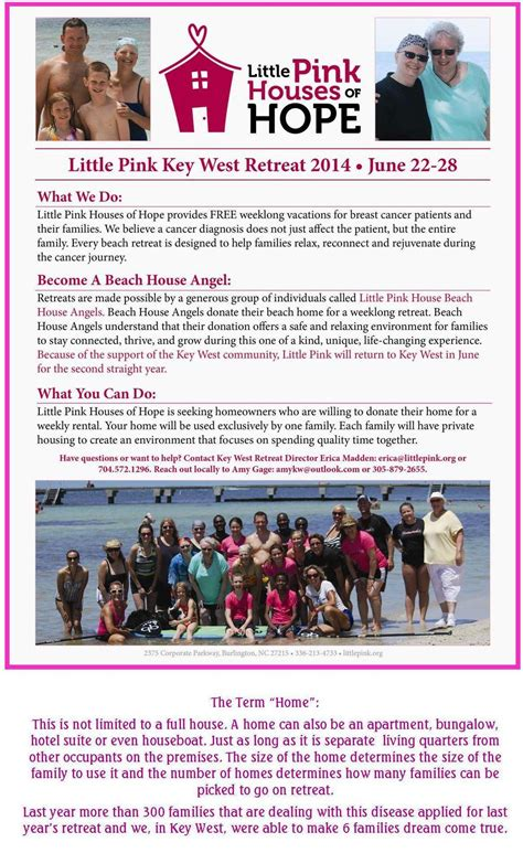 little pink houses of hope little pink houses of hope retreat 2014 key west the newspaper