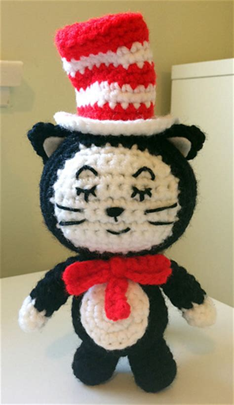 crochet pattern cat in the hat ravelry the cat in the hat amigurumi pattern by autumn