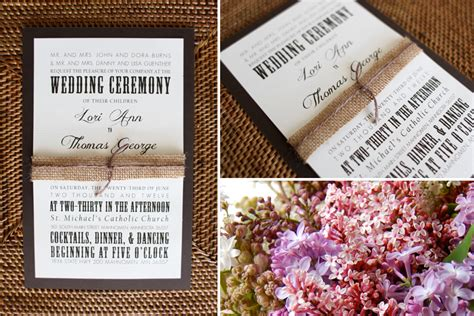Wedding Invitations Fargo Nd by Rustic Elegance Collection Fargo Wedding Invitations