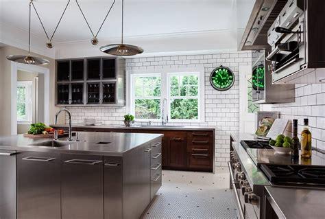 mobili cucina acciaio cucine acciaio inox look professionale e design ultra