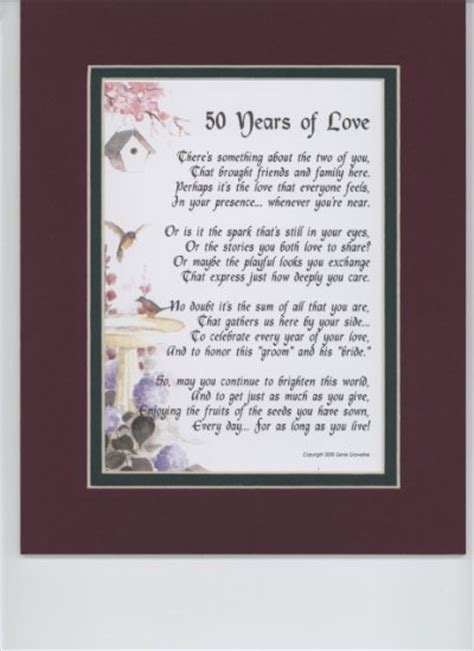 Wedding Anniversary Speech For Parents by 50th Wedding Anniversary Poems The Best 50th Wedding