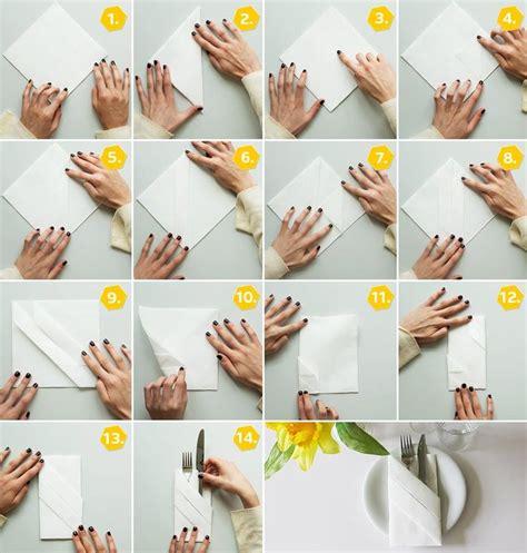 serviettenfalttechniken mit papierservietten 25 best ideas about servietten falten anleitung on