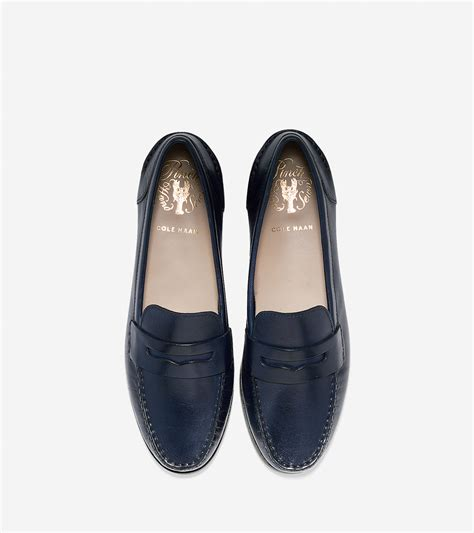 cole haan loafers womens cole haan s pinch grand loafer in blue lyst