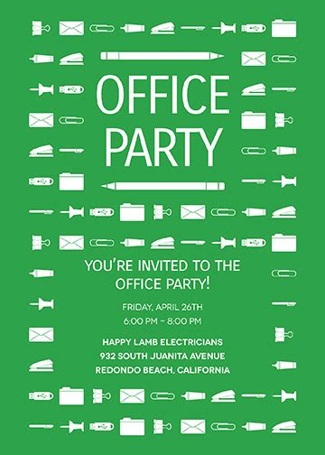 office invitations oubly
