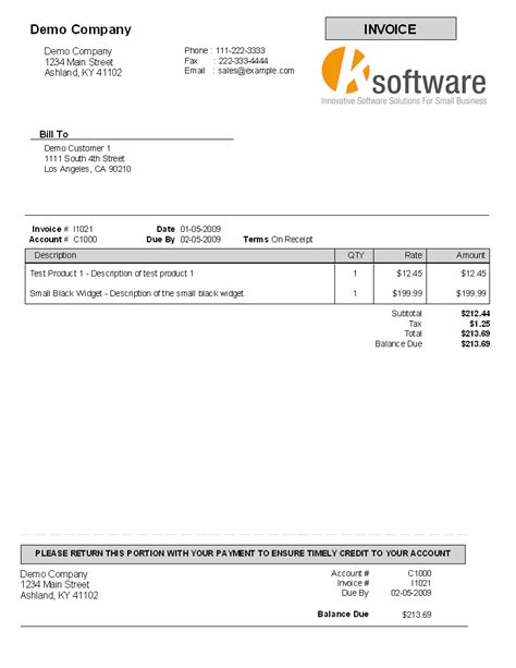 pay invoice template tearsheet 2 template
