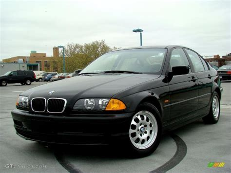 1999 bmw 323i jet black 1999 bmw 3 series 323i sedan exterior photo