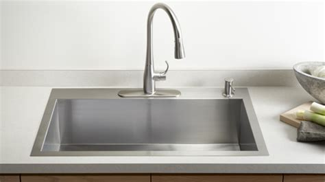 stainless steel kitchen sinks kohler stainless steel kitchen sinks kitchen sinks