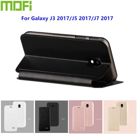 Mofi Leather Samsung Galaxy On7 original mofi for samsung galaxy j3 2017 luxury flip