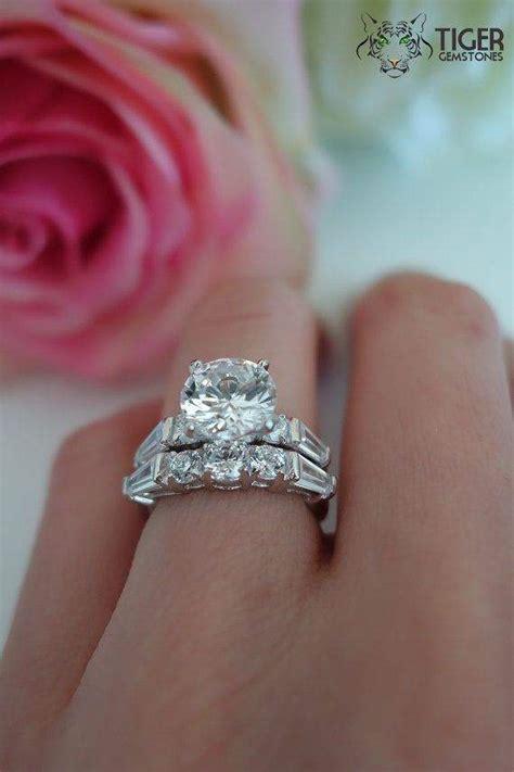 2 carat engagement ring settings rings
