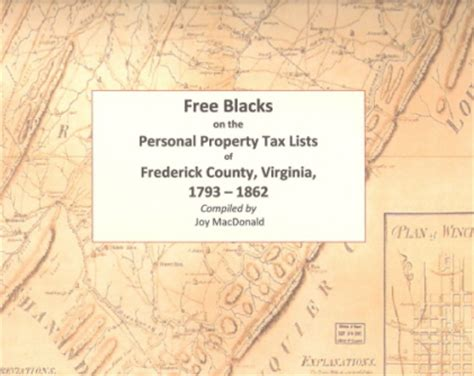 Frederick County Va Property Tax Records Frederick County Virginia Records