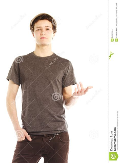 man holding stock image of full length portrait of fashionable young