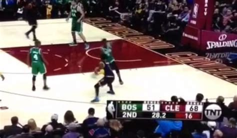 kyrie irving sends defender stumbling with filthy