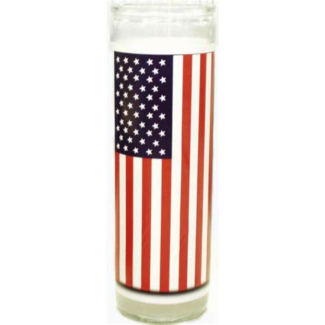 candele americane 033308 flag american candle 12