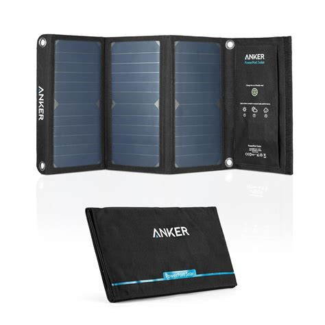 Anker Power 12 Port save energy with the best solar phone charger 2016 value
