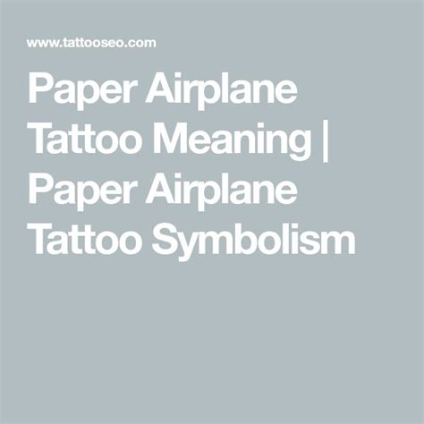 paper airplane tattoo meaning best 25 paper airplane tattoos ideas on small