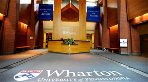 The Wharton School Of The Of Pennsylvania Mba by Wharton Hires Firm To Test Its Reputation