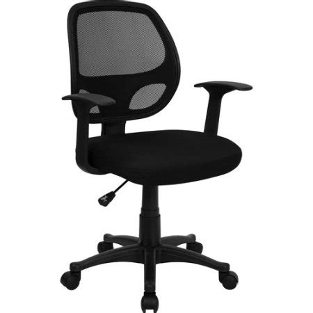 Flash Furniture Mesh Back Computer Chair Black Walmart Com Computer Desk Chair Walmart