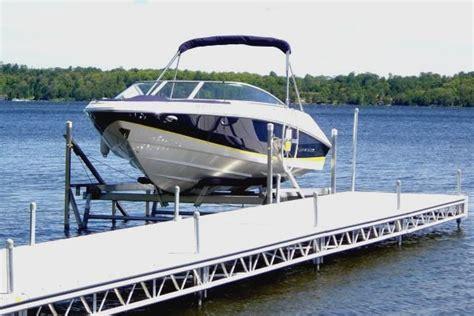 boat lift for sale sudbury docks and decks docks and decks builders sudbury on