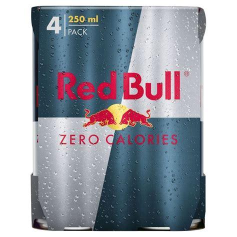 energy drink zero calories bull zero calories energy drink 4x250ml ebay