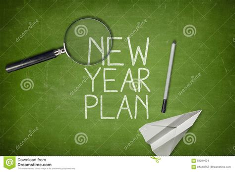 new year plan concept stock photo image of management