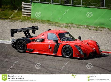 Motor Radical V8 by Radical Rxc V8 Car Test At Monza Editorial Stock Photo