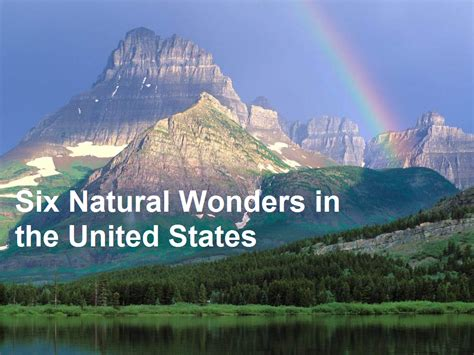 natural wonders in the us six natural wonders in the united states ct ny moving