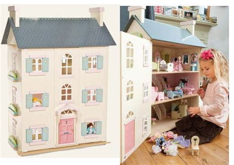 large dolls house uk wooden dolls houses traditional lavender and baytree snowdrop wooden doll houses