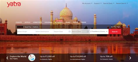 best flight booking best flight hotel booking websites in india