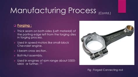 why i section is used in connecting rod design and construction of a connecting rod