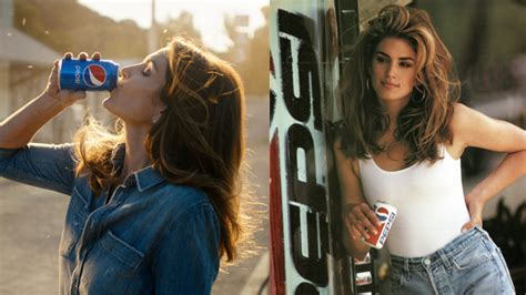 pepsi commercial larry actress cindy crawford recreates iconic super bowl ad 26 years