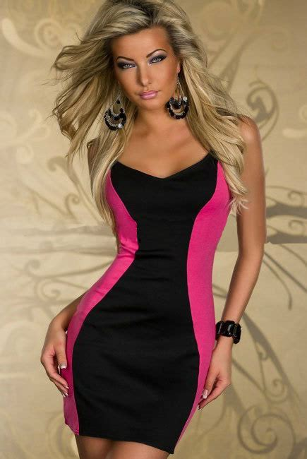 Two Color Dress 40382 s xl free shipping 2 color lace sheath dress zipper sleeveless club wear