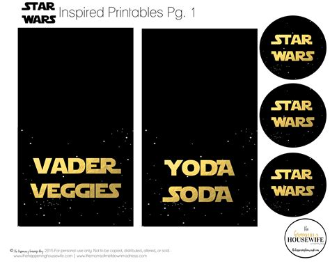 printable birthday cards star wars free free star wars inspired party printables the happening